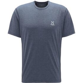 Haglöfs Ridge T-shirt Heren, dense blue